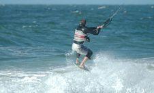 Free Kite Surfer 10 Royalty Free Stock Photos - 272818