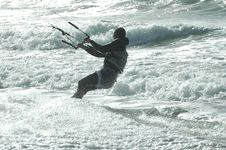Free Kite Surfer 14 Royalty Free Stock Image - 272836