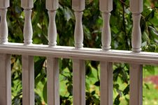 Free White Porch Railings Stock Image - 273451