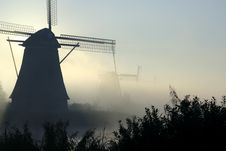 Free Windmills In Kinderdijk Stock Image - 274641