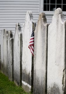American Grave Stock Photography