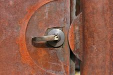 Free Rusting Door Stock Image - 275621
