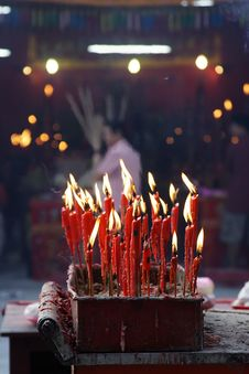 Free Chinese Candle Stock Photography - 275722