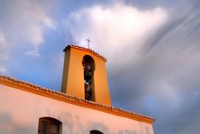 Free Spanish Church Sunset Stock Image - 276201