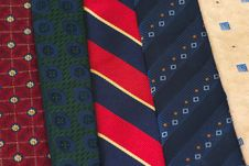 Neckties II Stock Photos