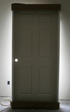 Free Back Lit Door Stock Photos - 276803