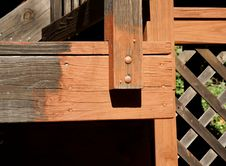 Free Detail Of Deck Stain Stock Photo - 277590