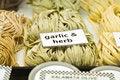 Free Garlic And Herb Pasta Royalty Free Stock Photos - 2702318