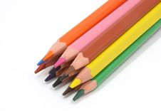 Free Colored Pencils Stock Photo - 2700740