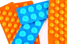 Free Blue And Orange Tablets Stock Images - 2701324