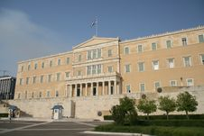 Free Greek Parliament Royalty Free Stock Photography - 2701477