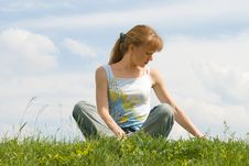 Free Relaxed Girl Royalty Free Stock Photo - 2701485