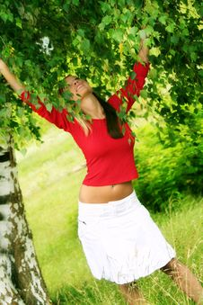 Free Happy In Summer Stock Photo - 2701500