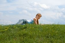 Free Relaxed Girl Stock Photography - 2701662