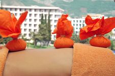 Herbal Massage Royalty Free Stock Image