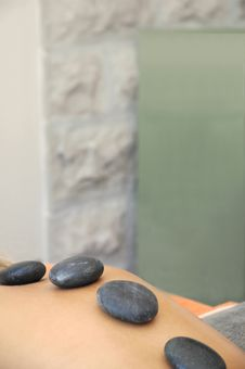 Free Hot Stones Massage Royalty Free Stock Image - 2702316