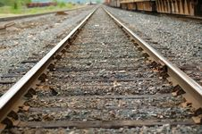 Free Tracks Into The Distance Stock Image - 2702611