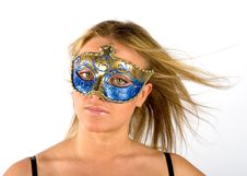 Free Masked Woman Stock Photography - 2702942