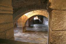 Free Inside The Monastir Stock Image - 2703711