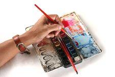 Free Hand Painting Stock Photos - 2704043