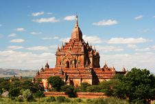 Free Ancient Paya In Bagan Stock Image - 2705491