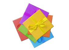 Free Wrapped Gifts Pile Stock Images - 2706014