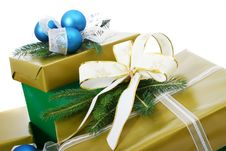 Free Gifts Boxes Royalty Free Stock Image - 2706506