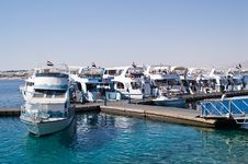 Free Egyptian Boats On The Berth Re Royalty Free Stock Images - 2706829