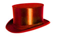 Free Red Chapeau Claque Royalty Free Stock Photos - 2707318