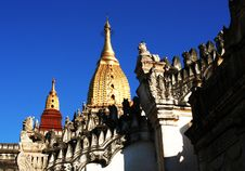 Free Ananda  Pagoda In Bagan Stock Photography - 2707992