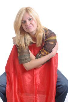 Free Blond Girl Stock Image - 2709261