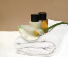 Natural Spa Healthcare Stock Image