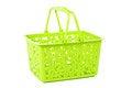Free Shopping Basket - Isolated On White Stock Photography - 27000682