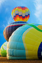 Free Four Hot Air Balloon Stock Photography - 27003652