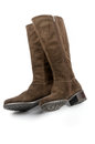 Free Brown Female Boots Royalty Free Stock Photography - 27008007