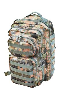 Free Camouflage Backpack Isolated Stock Image - 27000471