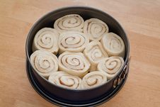 Sweet Roll Cake Royalty Free Stock Images