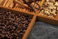 Bakery Spicy Ingredients Stock Image