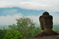 Free Borobudur Buddha Statue Overlooking The Landscape Royalty Free Stock Images - 27012939
