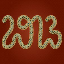 Free Snakes2013 Royalty Free Stock Photography - 27012857
