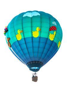 Free Colorful Hot Air Balloon Royalty Free Stock Photos - 27012968