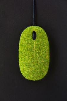 Eco Mouse Concept Stock Photos