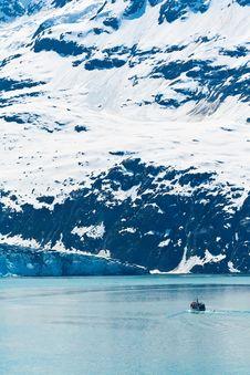 Free Fishing Boat In Glacier Bay National Park, Alaska Stock Image - 27013361