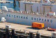 Free Ketchikan Shipyard Royalty Free Stock Image - 27013816