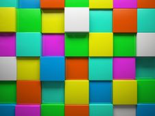 Free Abstract Pattern Of  Square Royalty Free Stock Photos - 27014408