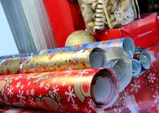 Free Christmas Wrapping Paper Royalty Free Stock Image - 27019156