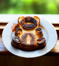 Free Baked Pudding Bear Royalty Free Stock Image - 27019246