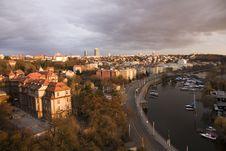 Free Prague Waterfront Stock Images - 27019354