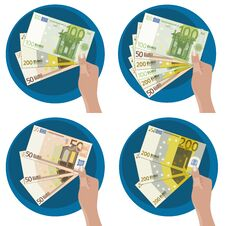 Free Hand Showing Money Stock Photography - 27019752