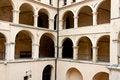 Free Courtyard Of PIeskowa Skala Palace Stock Photography - 27021012